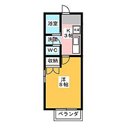 コープAi[2階]の間取り