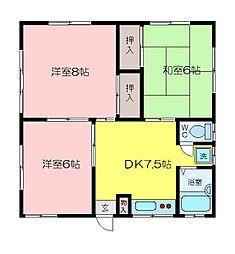原住宅[1階]の間取り