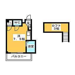 セラーヴィ箱崎宮前[3階]の間取り