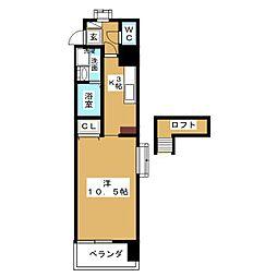 グリム覚王山[8階]の間取り