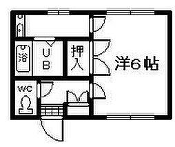 アバンティ泉佐野4番館[1階]の間取り