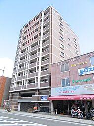 福岡県北九州市小倉北区竪町1丁目の賃貸マンションの外観