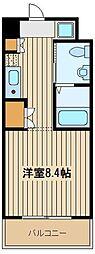 東京都練馬区東大泉2の賃貸マンションの間取り