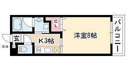 愛知県名古屋市瑞穂区東栄町6丁目の賃貸マンションの間取り