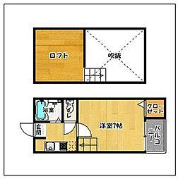 エルムコーポI[1階]の間取り