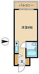 ロイヤルメゾン南武庫之荘[3階]の間取り