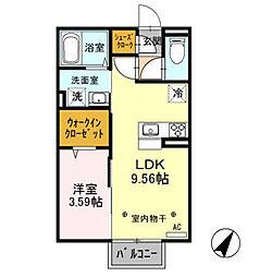 (仮)D-room西新井町[2階]の間取り