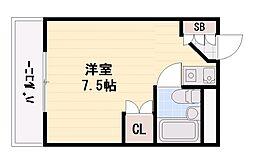 サニーパレス南別府[3階]の間取り