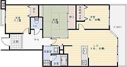 ヴェルデサコート桜ヶ丘[3階]の間取り