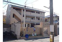 京都府京都市左京区下鴨宮河町の賃貸マンションの外観