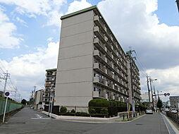 西京極ハイツ[8階]の外観