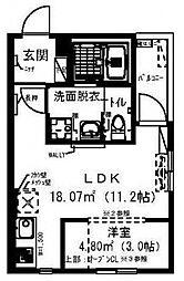 RadIAnce新松戸[303号室号室]の間取り