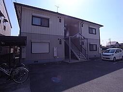 兵庫県姫路市飾磨区構4丁目の賃貸アパートの外観