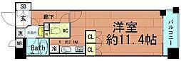 KAISEI阿波座[8階]の間取り
