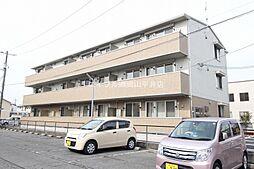 岡山県岡山市中区平井3の賃貸アパートの外観