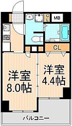 レジディア秋葉原[11階]の間取り