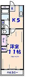浅沼マンション[4-C号室]の間取り