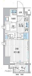 東京都港区新橋5丁目の賃貸マンションの間取り