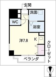 With Stage[5階]の間取り