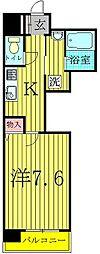 柏808タワー[5階]の間取り
