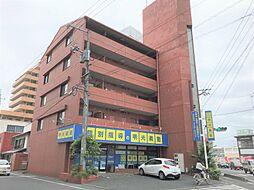 岡山県倉敷市昭和2丁目の賃貸アパートの外観