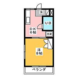 Room.10[2階]の間取り