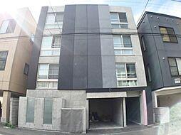 北海道札幌市豊平区豊平四条12丁目の賃貸マンションの外観