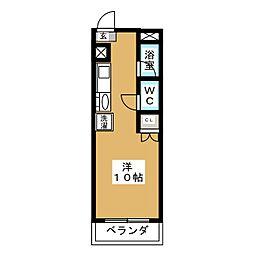 小松マンション YOSHIDA[2階]の間取り