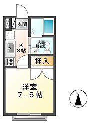 ピュア本郷[2階]の間取り