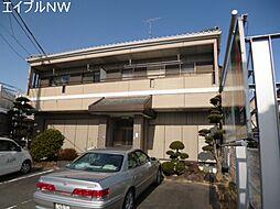 三重県松阪市殿町の賃貸アパートの外観