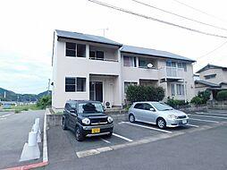 福岡県北九州市小倉南区長尾1丁目の賃貸アパートの外観