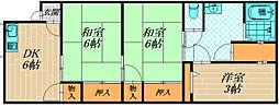 [一戸建] 大阪府大阪市旭区清水2丁目 の賃貸【/】の間取り
