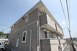 広島県福山市坪生町の賃貸アパートの外観