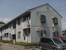 京都府京都市西京区樫原百々ケ池の賃貸アパートの外観