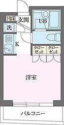 パークフロント西新宿[0403号室]の間取り