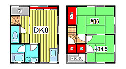[一戸建] 埼玉県川口市川口5丁目 の賃貸【/】の間取り