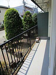 プルミエの前面棟が無く、陽当りよく洗濯物がよく乾きます。