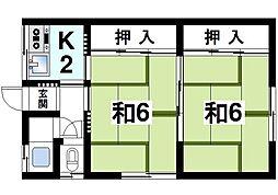 [一戸建] 奈良県奈良市三碓3丁目 の賃貸【/】の間取り