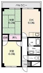 武井ビル[303号室号室]の間取り