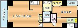 ルミナスAi八幡(ルミナスアイ八幡)[8階]の間取り