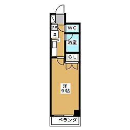 パインフィールド壬生[8階]の間取り