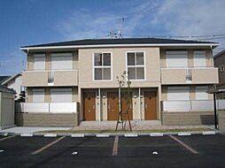 和歌山県和歌山市新中島の賃貸アパートの外観