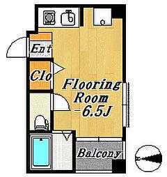 ラウンドエイト第1[3階]の間取り