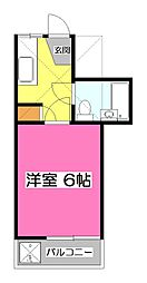 WJ・N-3ハイツ[1階]の間取り