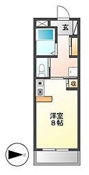 ドール新栄[5階]の間取り