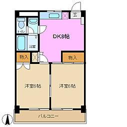 松慶マンション[2階]の間取り