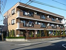 埼玉県川口市長蔵2丁目の賃貸マンションの外観