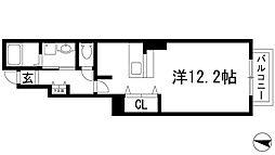 プリンス鋳物師[1階]の間取り