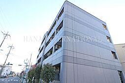埼玉県草加市花栗4の賃貸マンションの外観