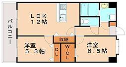 第33川崎ビル[9階]の間取り